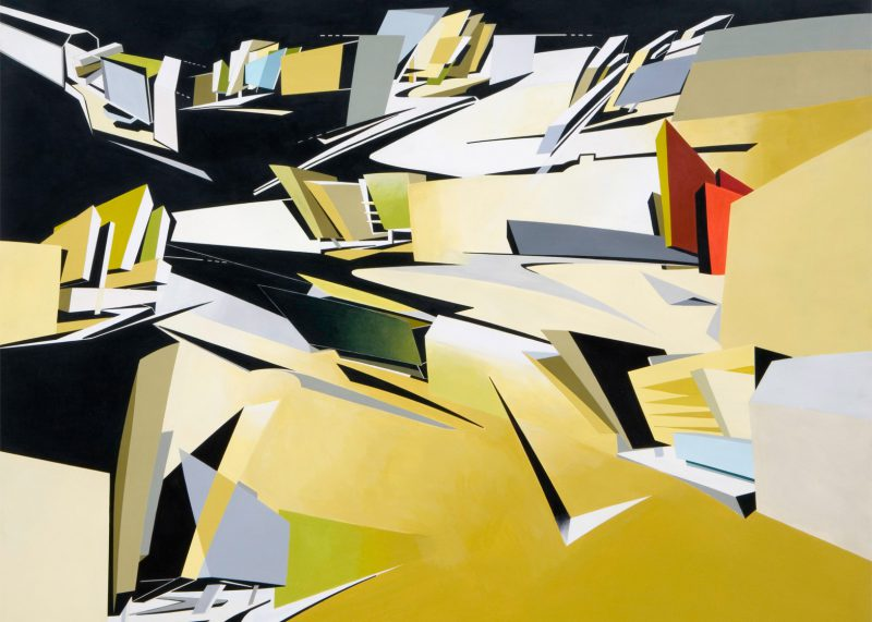 1989-hafenstrasse-hamburg-painting-zaha-hadid-architects-exhibition-palazzo-franchetti-venice-biennale-2016_dezeen_ban_0